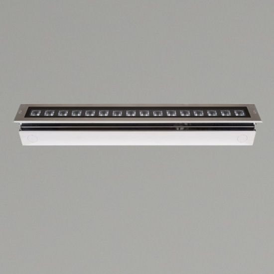 KSR Lighting KSR4179 Matrix 13w 4000K LED 340mm recessed Ground Light Stainless Steel