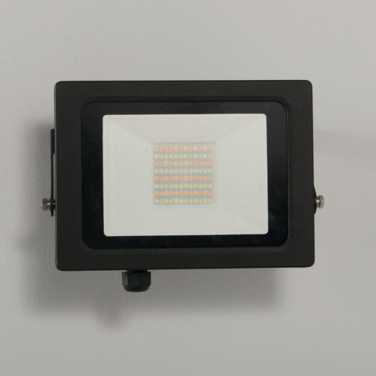 KSR Lighting KSR5286BLK Siena CCT 50w LED IP65 Floodlight Black