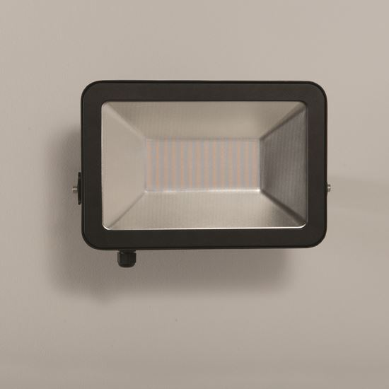 KSR Lighting KSR5289BLK Siena 100W 4000K LED IP65 Floodlight Black