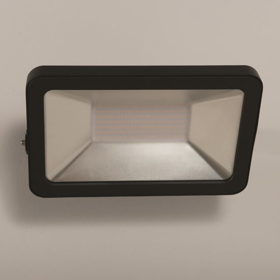 KSR Lighting KSR5293BLK Siena 200W 4000K LED IP65 Floodlight Black