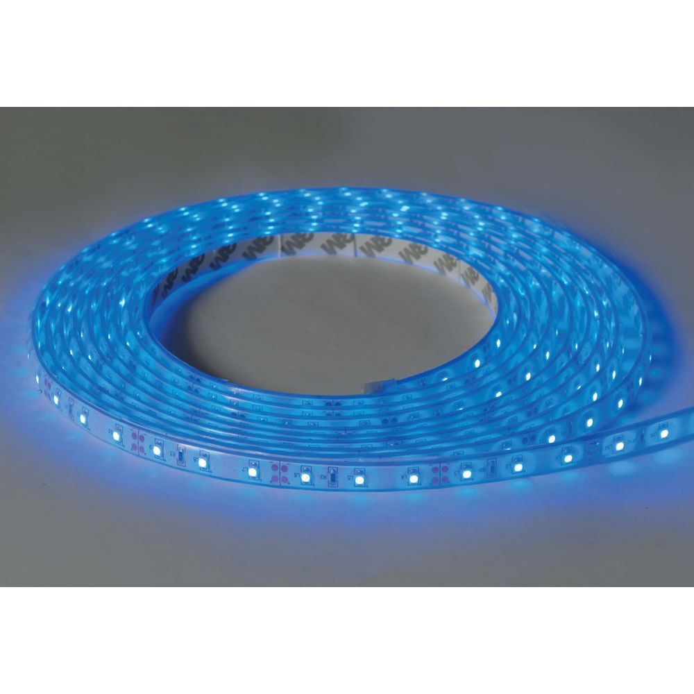 KSR Lighting KSR9752 Novara II 5m 12v 24W Blue 385lm IP67 LED Strip Kit - Incl Driver