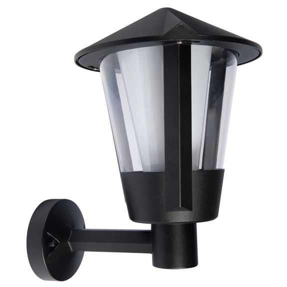 KSR Lighting KSR9980BLK Andaluz E27 Upward Wall Lantern Black