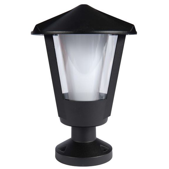 KSR Lighting KSR9981BLK Andaluz E27 Pillar Lantern Black
