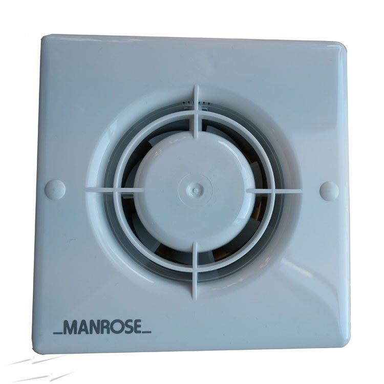 "Manrose XF100H 4""/100mm Extractor Fan with Integral Humidistat and Timer"