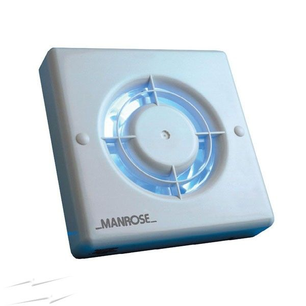 "Manrose XF100S 4""/100mm Extractor Fan (non timer)"