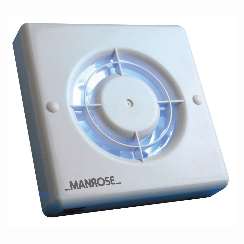 "Manrose XF100T 4""/100mm Extractor Fan with Timer"