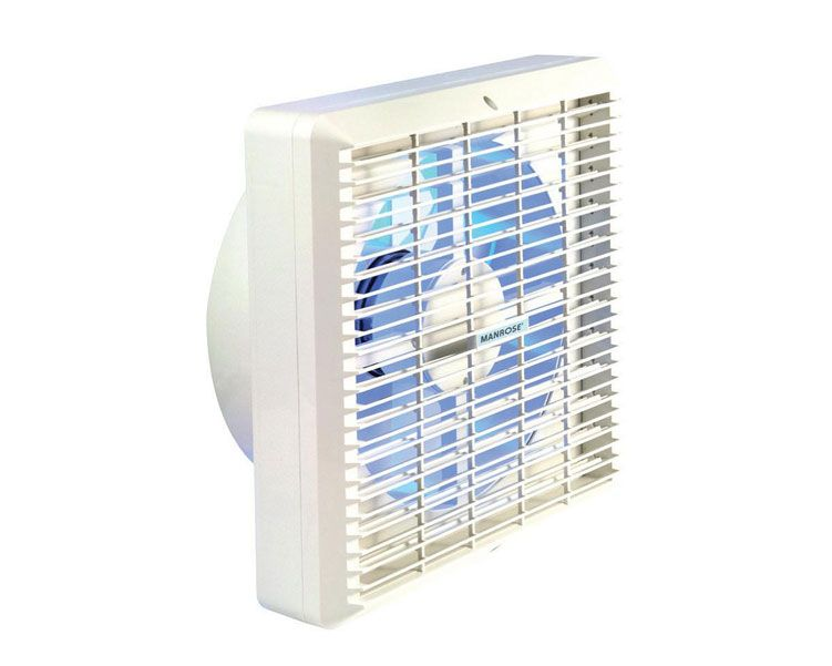 Manrose XF150AP Automatic Shutters and Pullcord