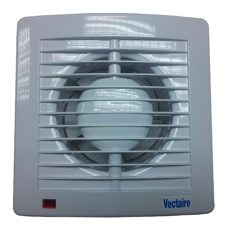 Vectaire AS10T PLUS Very High Performance Slimline Extractor Fan with Timer