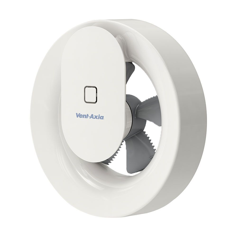 Vent-Axia Svara Lo-Carbon App Controlled Axial Kitchen and Bathroom Fan (409802)